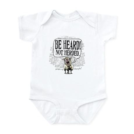 Be Heard Activist Protest Infant Bodysuit