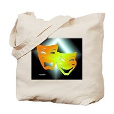 Tragedy & Comedy Tote Bag