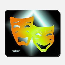 Tragedy & Comedy Mousepad