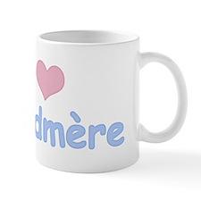 I Heart Grandmother French Mug