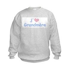 I Heart Grandmother French Sweatshirt