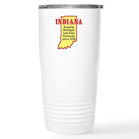 Indiana Stainless Steel Travel Mug