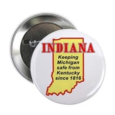 "Indiana 2.25"" Button"