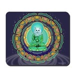 Kitty Buddha Mousepad
