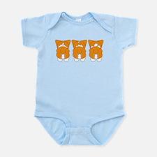 Sable Pembroke Infant Bodysuit