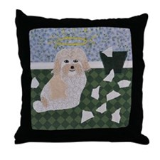 Did What? Throw Pillow