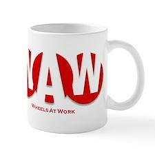 Wheels At Work Mug