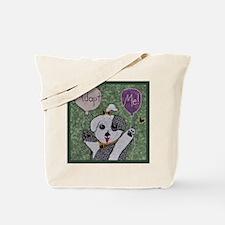 Rescue Puppy Tote Bag