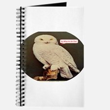 Drawing of an Owl Journal