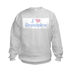 I Heart Grandfather French Sweatshirt