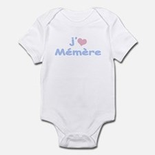 I Heart Grandma French Infant Bodysuit