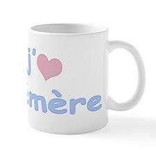 I Heart Grandma French Mug
