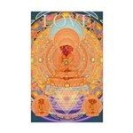 Doggy Buddha Mini Poster Print
