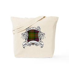 Carnegie Tartan Shield Tote Bag