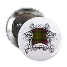 "Carnegie Tartan Shield 2.25"" Button"