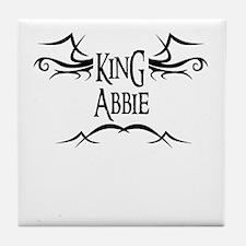 King Abbie Tile Coaster