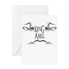 King Abel Greeting Card