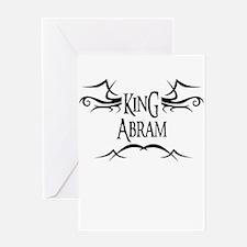 King Abram Greeting Card