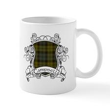 Campbell Tartan Shield Mug