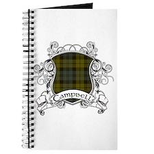Campbell Tartan Shield Journal