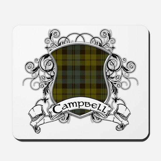 Campbell Tartan Shield Mousepad