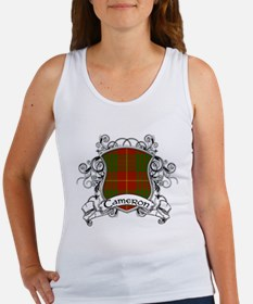 Cameron Tartan Shield Women's Tank Top