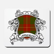 Cameron Tartan Shield Mousepad