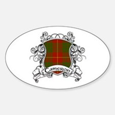 Cameron Tartan Shield Decal