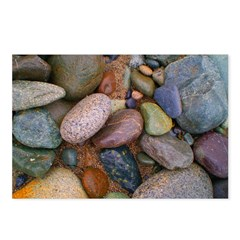 Beach Stones Postcards (Package of 8)