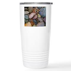 Beach Stones Stainless Steel Travel Mug