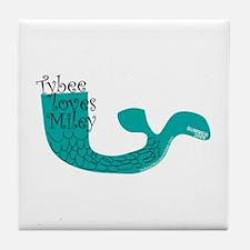 Cute Cyrus Tile Coaster