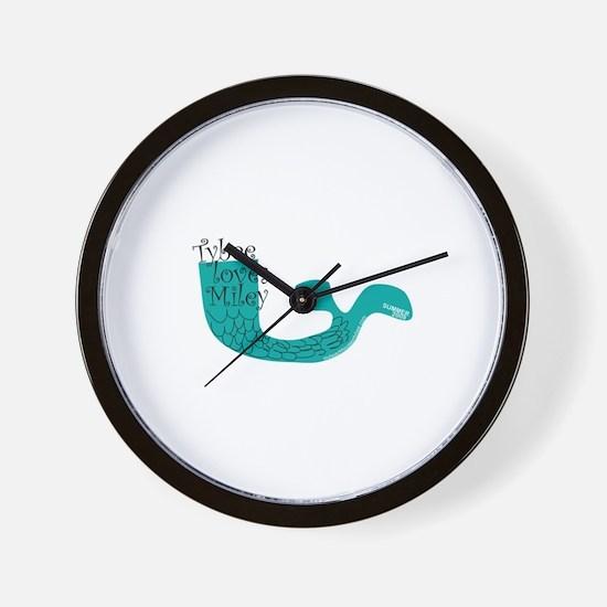 Unique Miley Wall Clock