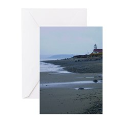 Lighthouse Dawn Greeting Cards (Pk of 20)