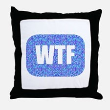 DTV Transition Throw Pillow