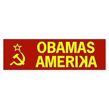 Obamas Amerika Bumper Bumper Sticker