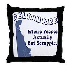Vintage Delaware Throw Pillow