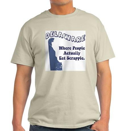 Vintage Delaware Ash Grey T-Shirt