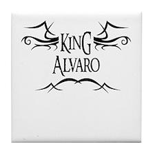 King Alvaro Tile Coaster