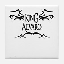 King Alvaro Tile Coaster