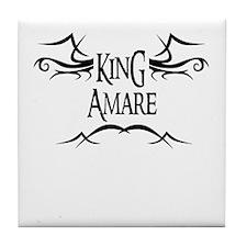 King Amare Tile Coaster