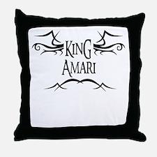 King Amari Throw Pillow