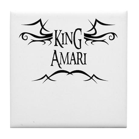 King Amari Tile Coaster
