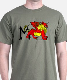 M is for Manticore T-Shirt