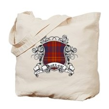 Butler Tartan Shield Tote Bag