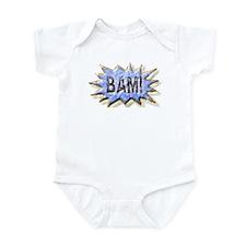 BAM! Distressed look Emeril Infant Bodysuit