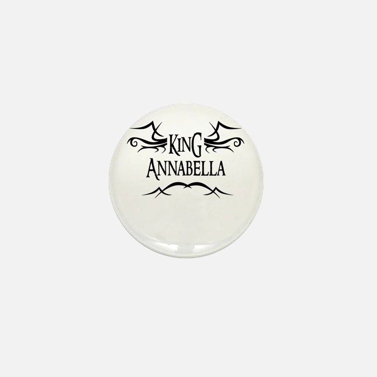 King Annabella Mini Button