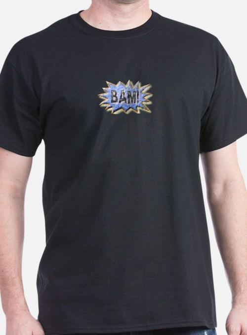 BAM! Distressed look Emeril T-Shirt