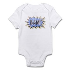 BAM! Distressed look Emeril Infant Bodysuit