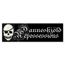 Danneskjold Repossessions Bumper Car Sticker