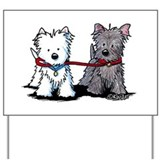 Kiniart westies Yard Signs